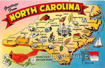gre000015 - North Carolina, USA Postcards Post Cards Old Vintage Antique