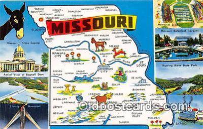 gre000026 - Missouri, USA Postcards Post Cards Old Vintage Antique