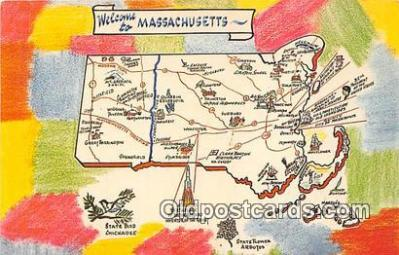 gre000033 - Massachusetts, USA Postcards Post Cards Old Vintage Antique