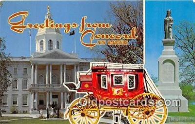 gre000057 - Concord New Hampshire, USA Postcards Post Cards Old Vintage Antique