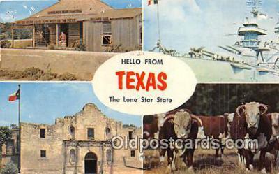 gre000093 - Texas, USA Postcards Post Cards Old Vintage Antique