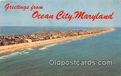 gre000110 - Ocean City Maryland, USA Postcards Post Cards Old Vintage Antique
