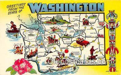 gre000119 - Washington, USA Postcards Post Cards Old Vintage Antique