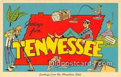 gre000150 - Tennessee, USA Postcards Post Cards Old Vintage Antique