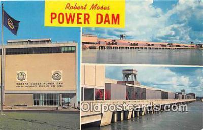 gre000181 - Robert Moses Power Dam, Massena New York, USA Postcards Post Cards Old Vintage Antique