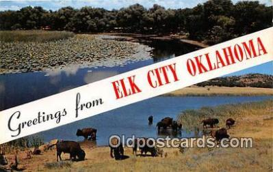gre000186 - Elk City Oklahoma, USA Postcards Post Cards Old Vintage Antique