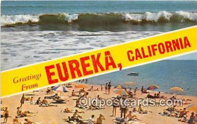 gre000199 - Eureka California, USA Postcards Post Cards Old Vintage Antique