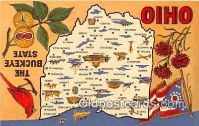 gre000218 - Ohio, USA Postcards Post Cards Old Vintage Antique