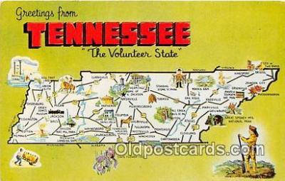 gre000225 - Tennessee, USA Postcards Post Cards Old Vintage Antique