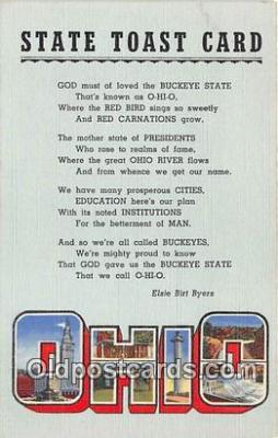 gre000245 - Ohio, USA Postcards Post Cards Old Vintage Antique
