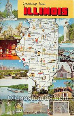 gre000257 - Illinois, USA Postcards Post Cards Old Vintage Antique