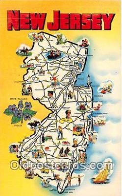 gre000288 - New Jersey, USA Postcards Post Cards Old Vintage Antique