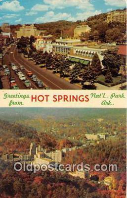 gre000297 - Hot Springs Arkansas, USA Postcards Post Cards Old Vintage Antique