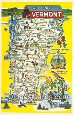gre000302 - Vermont, USA Postcards Post Cards Old Vintage Antique