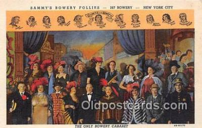Sammys Bowery Follies
