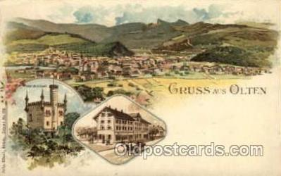 gsa001006 - Olten Gruss Aus, Postcard Post Card