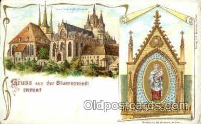 gsa001039 - Blumenstadt Erfurt Gruss Aus
