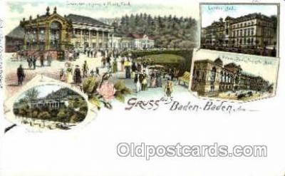 gsa001055 - Baden Baden Gruss Aus
