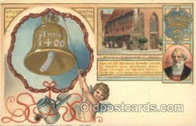 gsa001078 - Gruss Aus Anno 1400, Postcard Post Card
