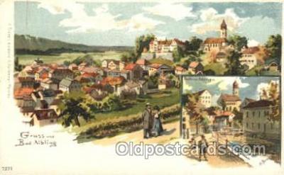 gsa001081 - Gruss Aus Bad Aibling, Gruss Aus Postcard Post Card
