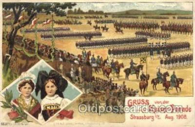 Gruss von der Kaiser - Parade, Aug 1908