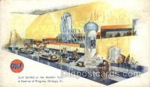 gas001039 - Gulf Gas Station Stations Postcard Post Card