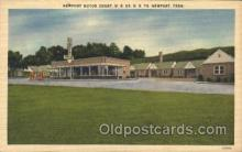 gas001045 - Newport Motor Court, Newport, Tennessee, USA Gas Station Stations Postcard Post Card