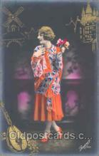 gla001007 - Glamour Women Postcard Post Card