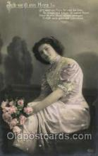 gla001059 - Glamour Woman Postcard Post Card