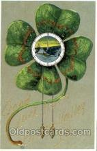 glk001003 - Good Luck from Old Vintage Antique Postcard Post Card