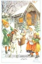 gns001021 - Curt Nystrom, Gnomes, Elves, Postcard Post Card