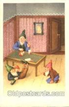 gns001054 - Gnomes, Elves, Fairy, Faries, Postcard Post Card