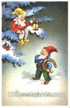 gns001055 - Gnomes, Elves, Fairy, Faries, Postcard Post Card