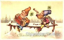 gns001065 - Gnomes, Elves, Fairy, Faries, Postcard Post Card