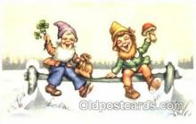 gns001069 - Gnomes, Elves, Fairy, Faries, Postcard Post Card