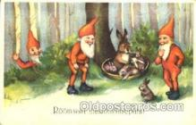 gns001073 - Gnomes, Elves, Fairy, Faries, Postcard Post Card