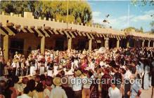 gom001003 - Old Governor's Palace, Fiesta Time Santa Fe, New Mexico, USA Postcards Post Cards Old Vintage Antique