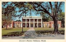 gom001009 - Governor's Mansion Tallahassee, FL, USA Postcards Post Cards Old Vintage Antique