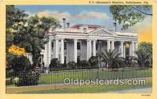 gom001023 - Governor's Mansion Tallahassee, FL, USA Postcards Post Cards Old Vintage Antique