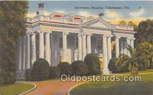 gom001024 - Governor's Mansion Tallahassee, FL, USA Postcards Post Cards Old Vintage Antique