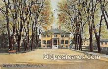 gom001034 - Governor's Mansion Richmond, VA, USA Postcards Post Cards Old Vintage Antique