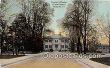 gom001035 - Governor's Mansion, Capitol Square Richmond, VA, USA Postcards Post Cards Old Vintage Antique