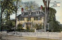 gom001049 - Old Governor Langdon's House 1874 Portsmouth, NH, USA Postcards Post Cards Old Vintage Antique