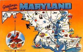 gre000002 - Maryland, USA Postcards Post Cards Old Vintage Antique