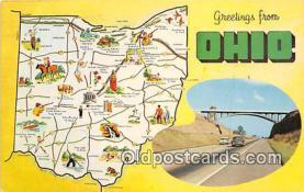 gre000007 - Ohio, USA Postcards Post Cards Old Vintage Antique
