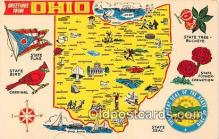 gre000008 - Ohio, USA Postcards Post Cards Old Vintage Antique