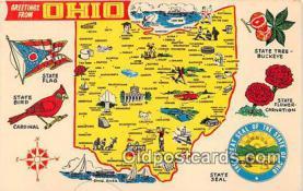 gre000008 - Ohio, USA Postcards Post Cards Old Vintage Antique