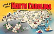 gre000011 - North Carolina, USA Postcards Post Cards Old Vintage Antique