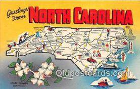 gre000011 - North Carolina, USA Postcards Post Cards Old Vintage Antique