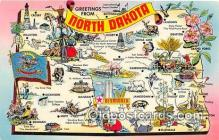 gre000012 - North Dakota, USA Postcards Post Cards Old Vintage Antique